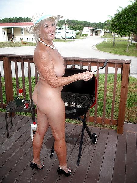 Georgette mature nude model