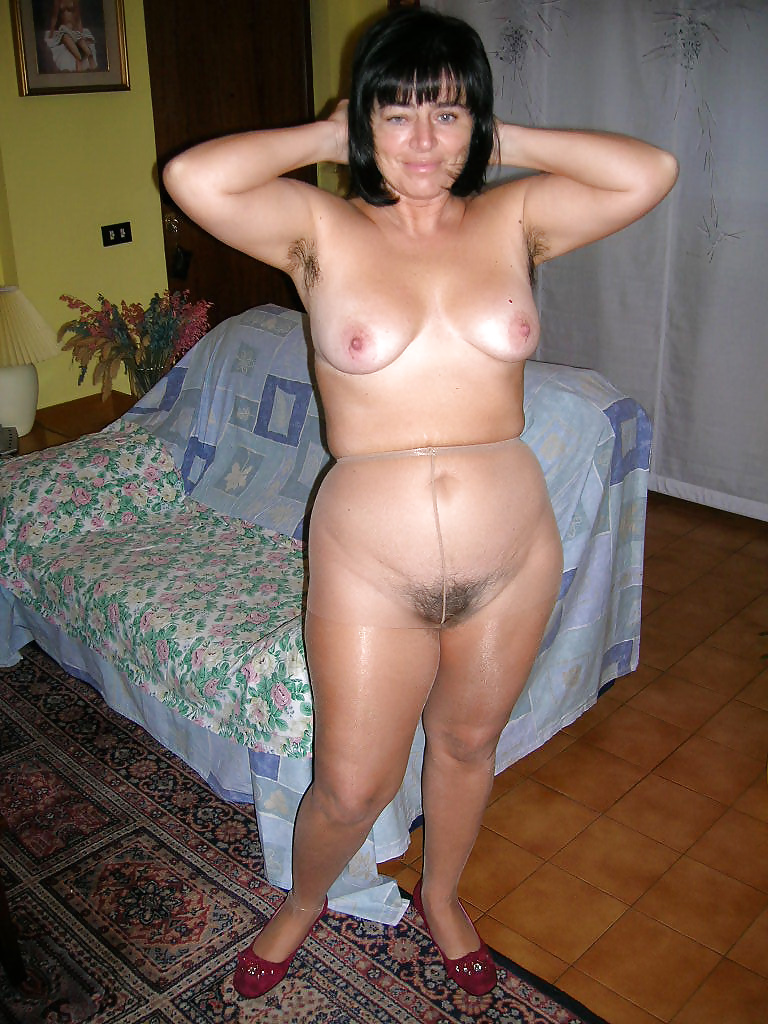 image Horny swinger housewife is so happy now
