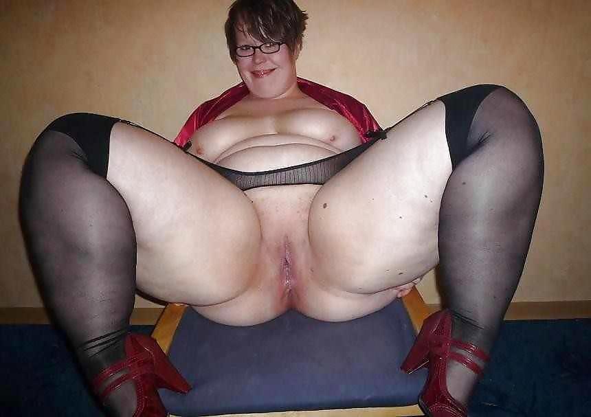 Bbw ass wide open